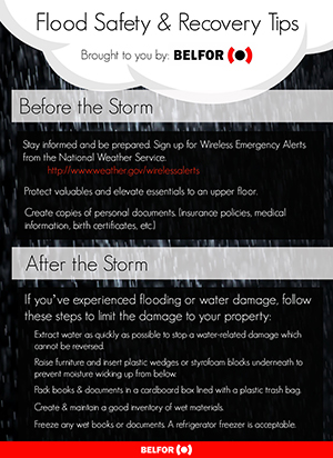 Flood Safety and Recovery Tips